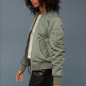 Wilfred free avion bomber jacket